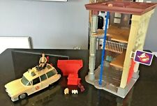 The Real Ghostbusters Vintage Fire Station and Ecto 1 Job Lot