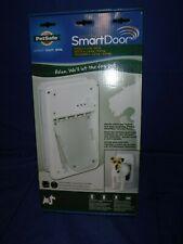 PetSafe Small SmartDoor Electronic Dog Door Ppa11-10711 Read