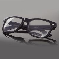 Fashion Retro Vintage Unisex Men Women Clear Lens Nerd Geek Glasses Eyewear