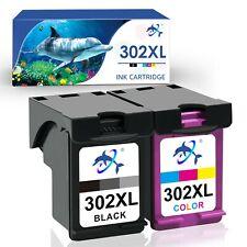 2x Druckerpatronen für HP OfficeJet 4650 4651 4657 4658 5220 5230 5232 302 XL
