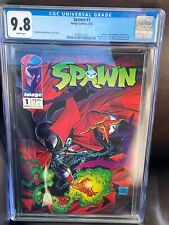 Spawn #1 CGC 9.8 White Pages Huge auction going on now!