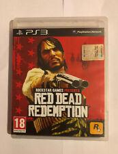 RED DEAD REDEMPTION PS3 - PAL ITA - COME NUOVO CON MANUALE E MAPPA