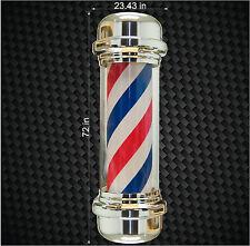 "72"" Digital Barbershop 6 ft. Barber Shop Pole Vinyl Decal Store graphic sticker"