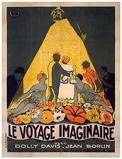 Le Voyage Imaginaire The Imaginary Voyage - 1925 - Rene Clair - Silent Film DVD