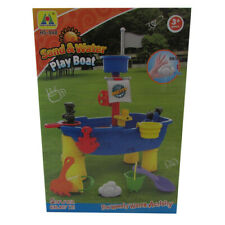 New High Quality Colourful Sand and Water Play Boat Table Perfect Gift for Kids