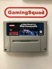 Nigel Mansell World Championship Super Nintendo SNES, Supplied by Gaming Squad