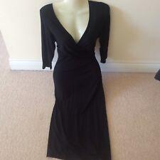 Marks & Spencer's black slip on stretch dress 12
