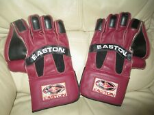 EASTON Leather Hockey Gloves - Youth - Natural Gel WK 1000