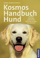 Kosmos Handbuch Hund von Sabine Winkler (2008, Gebunden)