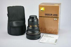 Nikon Zoom-Nikkor 14-24mm f/2.8 AF-S G ED IF VR Lens **Mint condition**