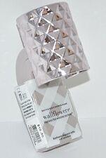 BATH & BODY WORKS WALLFLOWER HOME FRAGRANCE PLUG DIFFUSER MAUVE DIAMOND PURPLE