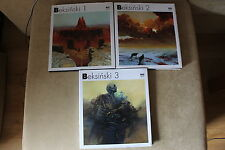 Zdzislaw Beksinski FULL COLLECTION 1-2-3 HARDCOVER ( Polish and English Album)