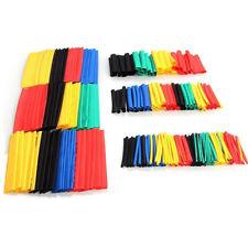 HEAT SHRINK tubing Sleeving 164 Confezione mista di colori e dimensioni assortiti Kit-UK