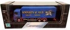 1:80 Scale Cararama Mercedes Benz Actros Boxvan - Knights of Old - BNIB