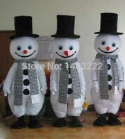 Christmas Performances And Snowman Mascot Costume And Christmas Snowman Costume