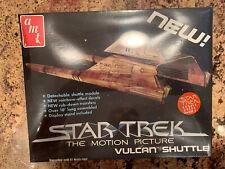 Star Trek The Motion Picture Vulcan Shuttle Model Kit - Amt Matchbox 1979