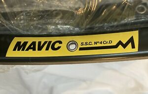 2x Mavic Special Services Course SSC No4 Cr.D  Tubular Paris Roubaix NOS 32 Rare