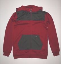 New Volcom Boys Shore Full zip Fleece Ski Snowboard Hoddie Size Medium