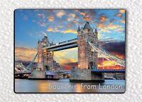SOUVENIR FROM LONDON UK. FRIDGE MAGNET -tfg8Z