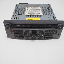 Peugeot 407 Citroen C5 Sat NaV Head Unit Radio Stereo CD Player 96632912YW