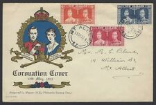 New Zeland 1937 Coronation FDC – Napier philatelic Society cachet