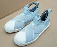 Damen Adidas Originals Superstar bw35 Slip On Sneaker in Schuhe WeißOff