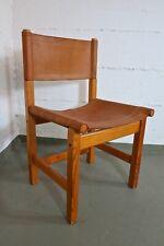 Stuhl Leder Chair 60s 60er Danish Vintage Design Denmark Stil