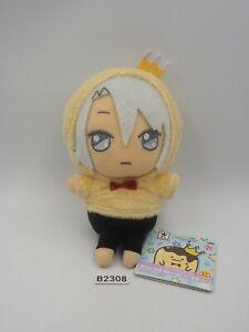 """IDOLiSH 7 B2308 Gaku Yaotome Banpresto 2018 Strap Mascot Plush 5"""" TAG Toy Doll"""