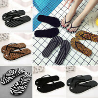 Summer Women Flip Flops Lady Beach Slippers Flat Heel Casual Sandals Flip Flops