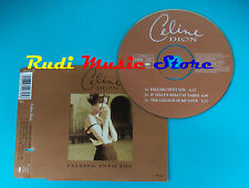 CD Singolo Celine Dion Falling Into You 662979 5 UK 1996 no mc lp(S21)