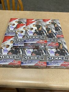 2021 Topps 2021 MLS 9 Boxes plus 2 free Match Attax Boxes