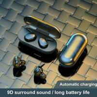 TWS4 Bluetooth 5.0 Drahtlose Kopfhörer Stereo Headset Ear Mini In Kopfhörer S4F8