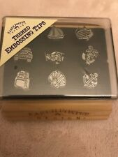 Karen Foster Themed Embossing Tips for use with Clikit Tool Set New Travel