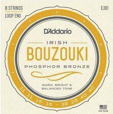 D'Addario EJ81 Phosphor Bronze Bouzouki Irish 11-40 Gauge Strings