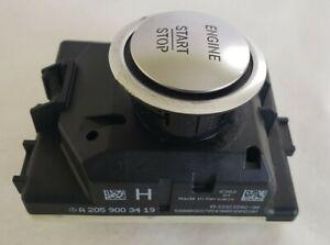 ⭐15-17 MERCEDES C300 W205 IGNITION SWITCH ENGINE START STOP OEM✅