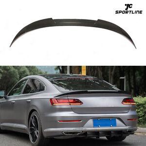 Carbon Spoiler Heckspoiler Flügel Abrisskante Lippe Für  Volkswagen CC Arteon 19