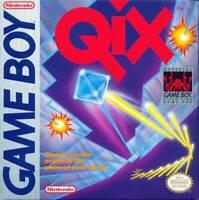 Qix Nintendo Game Boy