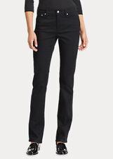 NWT $99.50 Lauren Ralph Lauren Womens Size 8 Premier Straight Curvy Jean