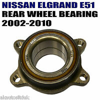 For NISSAN ELGRAND E51 2.5i 3.5i 02-10 REAR AXLE WHEEL HUB FLANGE BEARING x1