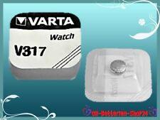 6 x Varta V317 SR62 SR516 RW326 SR516SW Uhrenbatterie Silberoxid knopfzelle