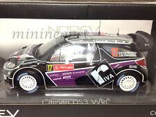 NOREV 181559 CITROEN DS3 #17 WRC RALLY PORTUGAL 2012 1/18 DIECAST PURPLE