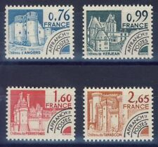 TIMBRE FRANCE NEUF PREOBLITERE SERIE 166/169 ** monument