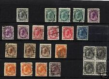 Canada  used  stamp  lot