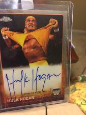 2015 Topps Chrome WWE Hulk Hogan Legends Auto Autograph