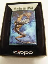 Zippo® Dragon 6 Drache Sapphire Blue  New / New Ovp