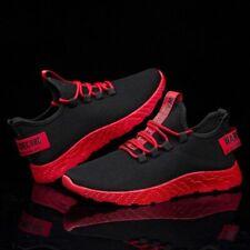 Men Sneakers Breathable Casual No-slip Men Vulcanize Shoes Air Mesh Lace up