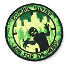 Zombie hunter (aim for the head) Camo patch w/ hook and loop closure backing