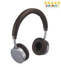 Goji Collection Wireless Bluetooth Hands Free On-Ear Headphones - Mocha Brown