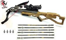 Wyvernized Excalibur Micro 335 Crossbow in Custom Wood Grain Finish New!