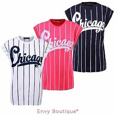 Jersey Striped Other Women's Tops